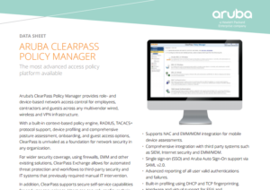 aruba-clearpass-policy-manager-datasheet