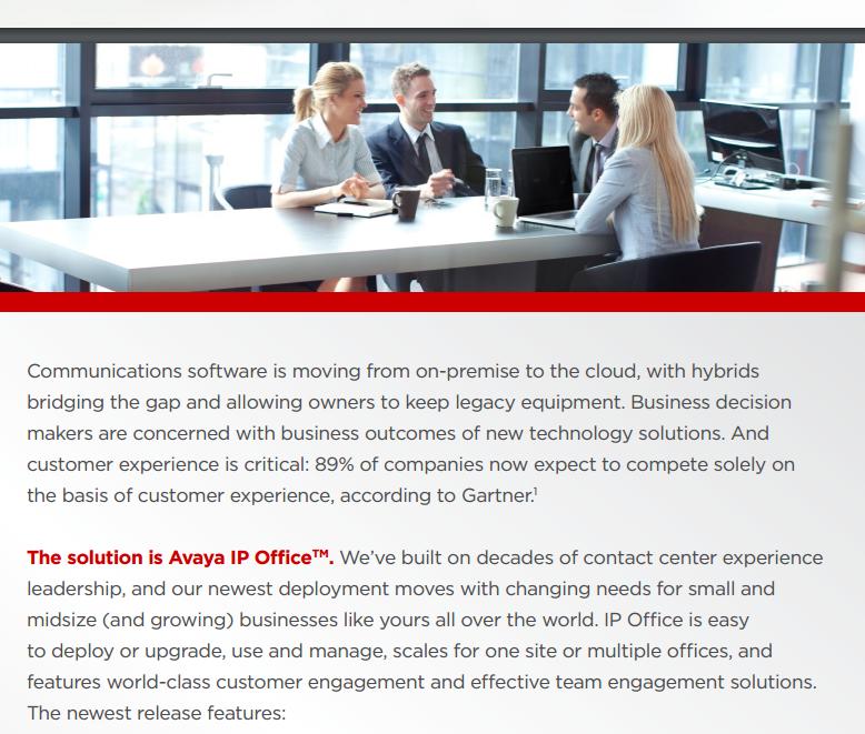 Avaya IP Office Platform - Laketec