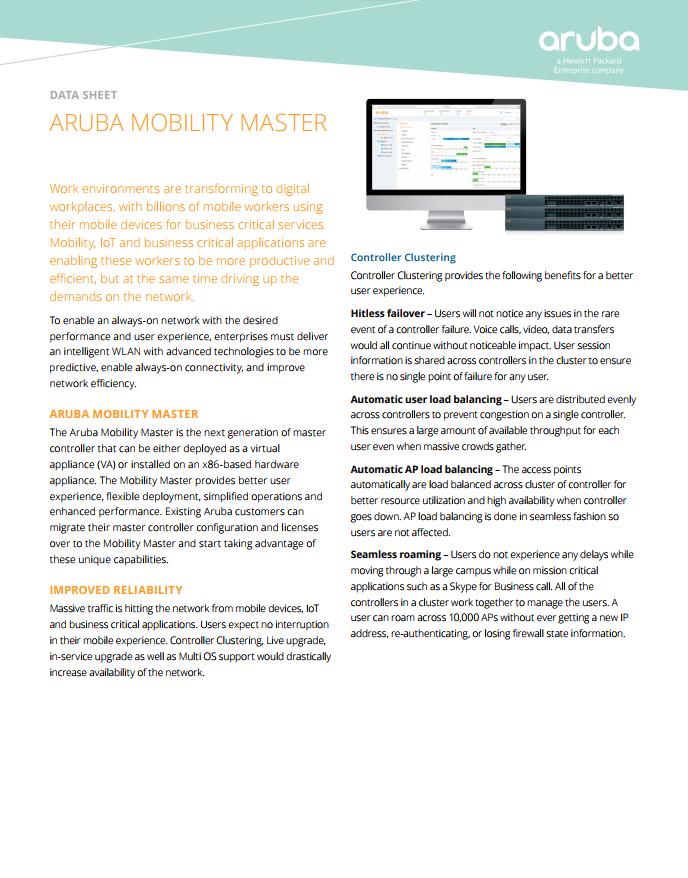 Aruba Mobility Master - Laketec
