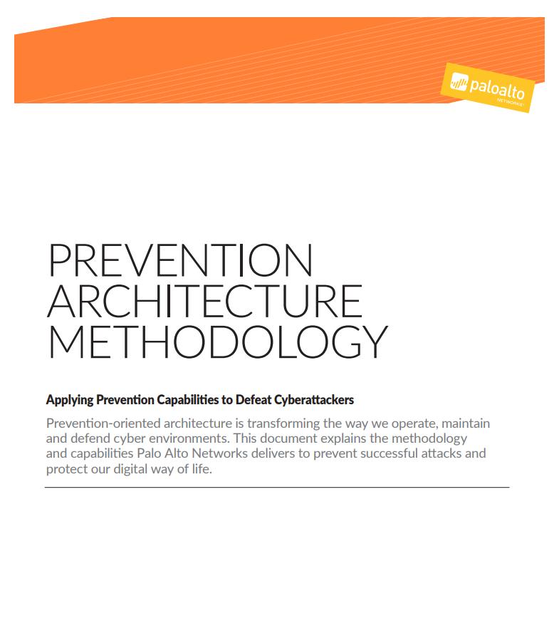 Palo Alto - Prevention Based Architecture - Laketec